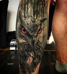 Owl Tattoo Design Ideas The Best Collection Top Rated Stylish Trendy Tattoo Designs Ideas For Girls Women Men Biggest New Tattoo Images Archive Eagle Tattoos, Leg Tattoos, Body Art Tattoos, Sleeve Tattoos, Tattoos For Guys, Owl Tattoo Design, Tattoo Designs, Tattoo Ideas, Owl Forearm Tattoo