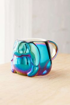Electroplated Bunny Mug   Urban Outfitters
