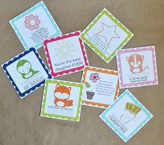 Printable Lunch Box Notes from popular song lyrics www.thirtyhandmadedays.com