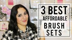 The 3 BEST and AFFORDABLE BRUSH SETS #brushes #makeupbrushes #brush #brushset #bhcosmetics #sheinside #claires #pennelli #trucco #makeup #review #recensione #flashreview #fashionblogger #beautyblogger #beautyguru #beautyvlogger #beauty #maccosmetics #sigma #zoeva #brunette #italiangirl #youtuber #mac #makeuptutorial #best #bestbrushes #thebest #flashreview #migliori #lowcost #cheap #afordable
