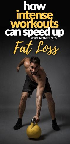 How intense workouts can speed up fat loss. #hiit #crossfit #circuittraining #workouts #gym #weighttraining