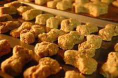 Peanut Butter & Applesauce Dog Biscuit Recipe