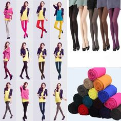 6181cdd4dc1 Women Ladies Thick Warm Winter Stockings Socks Stretch Tights Opaque  Pantyhose  fashion  clothing  shoes  accessories  womensclothing   hosierysocks (ebay ...