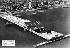 #TBT – Galveston Island Historic Pleasure Pier, 1950