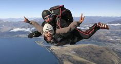 Go to the site just click the tab for further choices : where to go skydiving Skydiving, Tandem, Where To Go, New Zealand, Scenery, Adventure, Choices, Travel, Life
