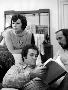 Bernardo Bertolucci e Stefania Sandrelli Bernardo Bertolucci, Cannes, Filmmaking, Robin, Behind The Scenes, Che Guevara, Guys, Couple Photos, Celebrities