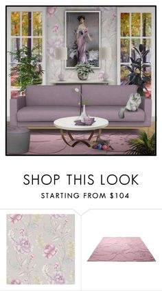 """Pastel Summmer"" by signaturenails-dstanley ❤ liked on Polyvore featuring interior, interiors, interior design, home, home decor, interior decorating, Brewster Home Fashions and ESPRIT"