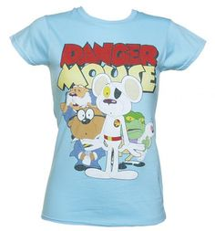 Ladies Dangermouse T-Shirt