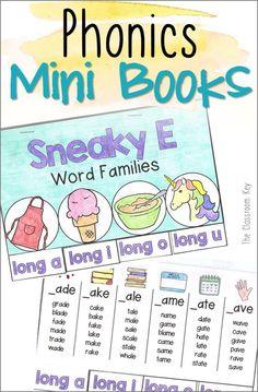 phonics mini books Archives - The Classroom Key