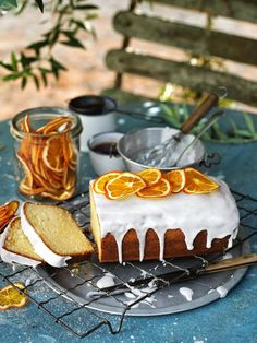 Olive Oil Madeira Cake | Donna Hay