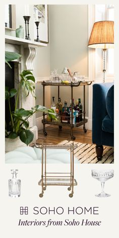 Soho Home is an interiors collection from Soho House that includes furniture, lighting, tableware, textiles and accessories created for, and inspired by the Houses worldwide. Soho House, My Living Room, Repurposed, Sweet Home, New Homes, Lounge, Decoration, Room Decor, Interior Design