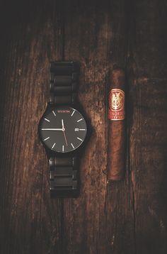 Black/Black W/Cigar   Buy Now: www.mvmtwatches.com