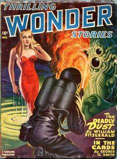 Thrilling Wonder Stories - August 1947