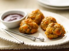 Gluten Free Sausage Cheese Balls. Perfect bite sized snacks.
