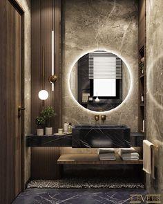 Modern Luxury Bathroom, Bathroom Design Luxury, Modern Bathroom Design, Luxury Interior Design, Modern House Design, Washroom Design, Toilet Design, Bathroom Design Inspiration, Home Room Design