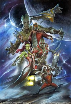 Guardians of the Galaxy - Adi Granov