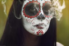 15 Gorgeous Day of the Dead Skull Makeups | Bored Panda