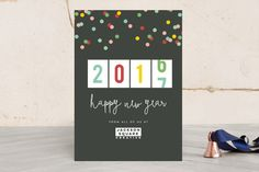 happy new years Business Holiday Cards by Sara Hicks Malone at minted.com
