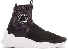 bacbee7d6 McQ Alexander McQueen - Black Hikaru Sneakers Mcq Alexander Mcqueen, Puma  Fierce, Valentino,