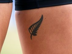 Silver Fern Tattoo <---I think I may have this done when I come back from NZ. Mini Tattoos, New Tattoos, Small Tattoos, Cool Tattoos, Turtle Tattoos, Tatoos, Biblical Tattoos, Meaningful Tattoos, Pretty Tattoos