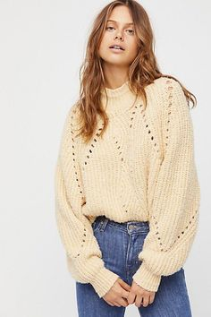 Timbers Sweater by Free People #sweaters #fallstyle