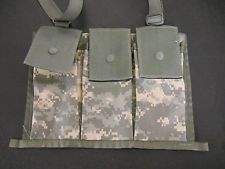 Molle 2 Bandoleer Six Mag Ammo Pouch- Digital Camo