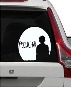Miss Peregrines Home For Peculiar Children Stay Peculiar Decal - How to make car decals at home