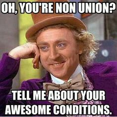 Image result for memes of Bashing of unions in Australia
