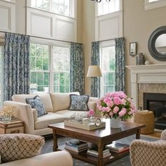 Two Story Rooms Design Ideas, Pictures, Remodel, and Decor
