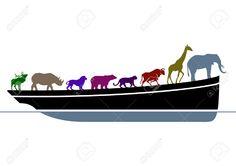 Noah's Ark Royalty Free Cliparts, Vectors, And Stock Illustration ...