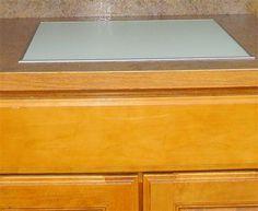 Beautiful Craftsmanship. : Built in cutting board.