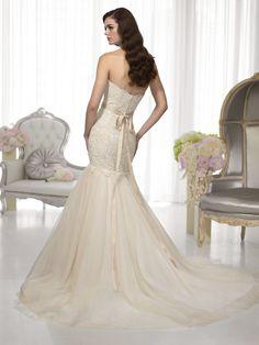 Luxurious Essense Of Australia Wedding Dresses 2014 Collection Part II Vintage Style Wedding Dresses, Wedding Dresses 2014, Wedding Dress Styles, Bridal Dresses, Vintage Dresses, Wedding Gowns, Wedding Rings, Backless Wedding, Chic Wedding