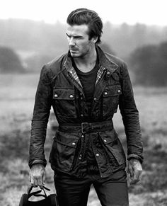 David Beckham for Belstaff is a must have!