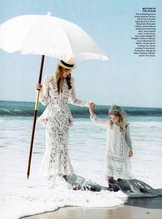 Grace Coddington - Vogue Editorial Swept Away, November 2011  photo: Patrick Demarchellier