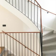 A bit underwhelming ? Stair Banister, Bannister, Railings, Christina Cole, Rise And Run, Home Collections, Stairways, Villa, Interior Design