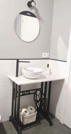 Vanity, Mirror, Bathroom, Furniture, Home Decor, Matte Black, Vanity Tops, Feet Nails, Bathroom Sinks