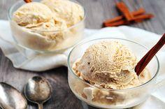 Crème glacée à la cannelle avec Thermomix, recette d'une glace délicieuse, facile et simple à réaliser chez vous sans sorbetière.