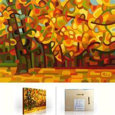 "Daily+Paintworks+-+""Landscape+Study+#76""+-+Original+Fine+Art+for+Sale+-+©+Mandy+Budan"