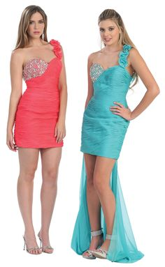 A couple of our stunning new dresses by Beverly Hills.
