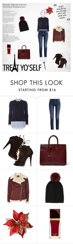"""Calvin Klein"" by almir-djulo ❤ liked on Polyvore featuring Dorothy Perkins, Calvin Klein, Giuseppe Zanotti, Yves Saint Laurent, Sofiacashmere and Tom Ford"