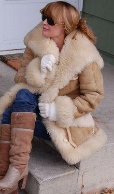 Cute Sheepskin Coat