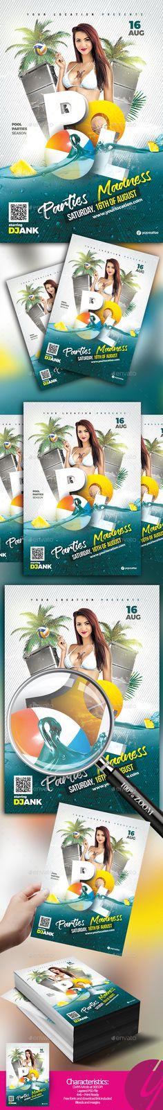 Pool Parties Madness - Clubs & Parties Events