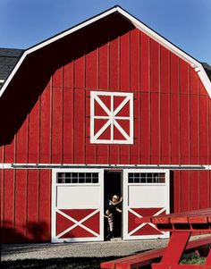 Red & White Barn