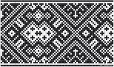 Mønster til kvarder i smøyg