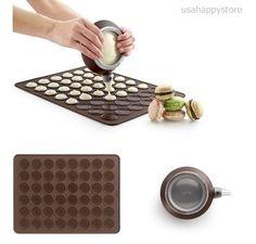 Macaron Kit Silicone Baking Sheet Mat Tools Decomax Pen Cooking Kitchen DIY Food #Lekue