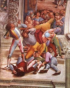 Luca Signorelli Men's Renaissance Costume, Renaissance Image, Renaissance Kunst, Renaissance Portraits, Italian Renaissance, Renaissance Clothing, Fresco, Tempera, Lucca
