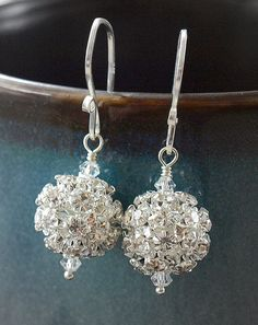 Sophisticated Rhinestone Encrusted Drop by ChristaMarieBoutique, $24.50  My cousin's boutique!!!