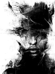 Byroglyphics. I want a portrait painted like this!