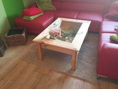 Strickteppich fürs Wohnzimmer  Liebe Gundula, vielen Dank für diese tollen Bilder. Ein eindrucksvoller und wunderschöner Teppich aus Original Textilo Stripes – der würde bei mir auch gut passen 🙂