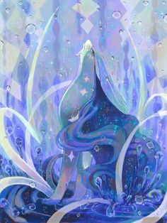 Pokémon Art Museum // Suicune has a special place in my heart. I think I can wholeheartedly say that Suicune is my favorite legendary. Mega Pokemon, Pokemon Memes, Pokemon Fan Art, Cool Pokemon, Pokemon Stuff, Dragons, Water Type, Kino Film, Nintendo
